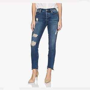 Level 99 Skylar Seamed High Rise Step Hem Jeans